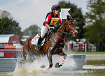 October 16, 2021: Fylicia Barr (USA), aboard Galloway Sunrise, competes during the Cross Country Test at the 5* level during the Maryland Five-Star at the Fair Hill Special Event Zone in Fair Hill, Maryland on October 16, 2021. Scott Serio/Eclipse Sportswire/CSM