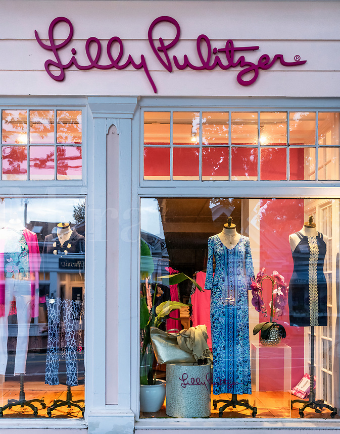 Lilly Pulitzer store in Chatham.