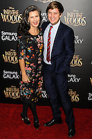NEW YORK CITY, NY, USA - DECEMBER 08: Tracey Ullman, John McKeown arrive at the World Premiere Of Walt Disney Pictures' 'Into The Woods' held at the Ziegfeld Theatre on December 8, 2014 in New York City, New York, United States. (Photo by Celebrity Monitor)
