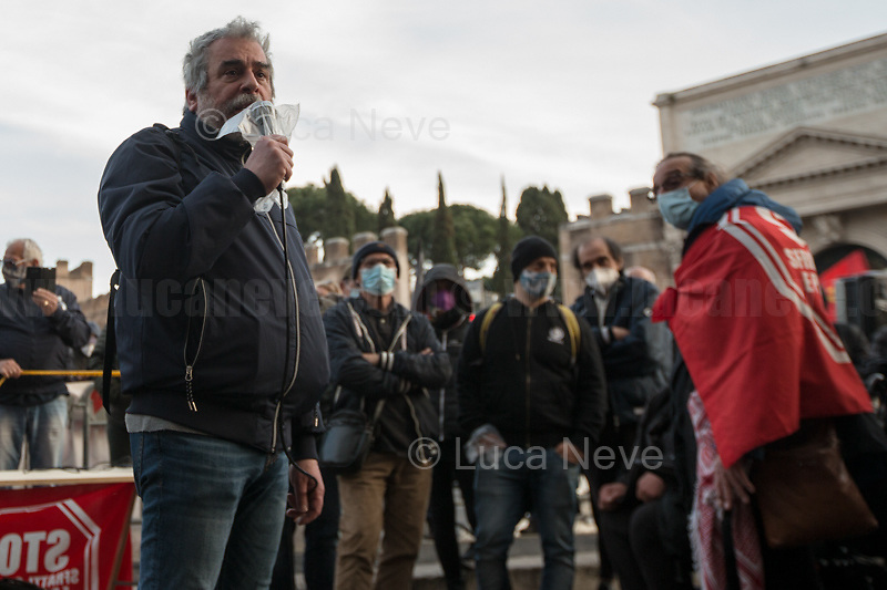 Member of the delegation reporting about the meeting with the Undersecretary Cancelleri. <br />