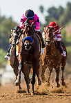 September 29 2018 : Game Winner with Joel Rosario up wins The American Pharoah Stakes on Breeders Cup Preview Day at <br /> Santa Anita Park on September 29, 2018 in Arcadia, California. Evers/ESW/CSM