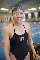 Bentonville's Lienfang Yu stands for a portrait, Thursday, April 15, 2021 at the Bentonville Community Center in Bentonville. Check out nwaonline.com/210415Daily/ for today's photo gallery. <br /> (NWA Democrat-Gazette/Charlie Kaijo)