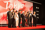 Movie, Hanagatami appears on the opening red carpet for The 30th Tokyo International Film Festival in Roppongi on October 25th, 2017, in Tokyo, Japan. The festival runs from October 25th to November 3rd at venues in Tokyo. (Photo by Michael Steinebach/AFLO)