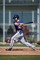 Minnesota Twins Daniel Kihle (36) during a minor league Spring Training game against the Baltimore Orioles on March 17, 2017 at the Buck O'Neil Baseball Complex in Sarasota, Florida.  (Mike Janes/Four Seam Images)
