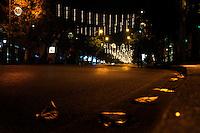 La notte della Vigilia. The night of Christmas Eve.