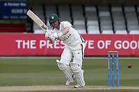 Jake Libby in batting action for Worcestershire during Essex CCC vs Worcestershire CCC, LV Insurance County Championship Group 1 Cricket at The Cloudfm County Ground on 11th April 2021