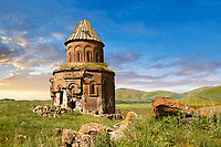 The Armenian church of St Gregory of the Abughamrents, Ani archaelogical site on the Ancient Silk Road ,  Anatolia, Turkey