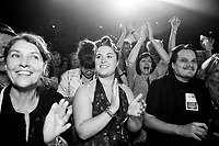Fans enjoy the show at the Ponderosa Stomp in New Orleans on October 06, 2017.