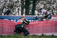 cx world champion Ceylin del Carmen Alvarado (NED/Alpecin-Fenix)<br /> <br /> Women's Race<br /> UCI Cyclocross World Cup Namur 2020 (BEL)<br /> <br /> ©kramon