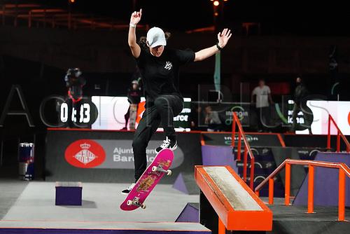 6th November 2020; Parc del Forum, Barcelona, Catalonia, Spain; Imagin Extreme Barcelona;  Charlotte Hym (FRA) winner of the womens street final