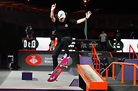 6th November 2020; Parc del Forum, Barcelona, Catalonia, Spain; Imagin Extreme Barcelona;  Charlotte Hym (FRA) winner of the womens street final