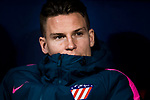 Kevin Gameiro of Atletico de Madrid looks on prior to the UEFA Europa League 2017-18 Round of 16 (1st leg) match between Atletico de Madrid and FC Lokomotiv Moscow at Wanda Metropolitano  on March 08 2018 in Madrid, Spain. Photo by Diego Souto / Power Sport Images