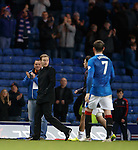 Ian Cathro on the park at full-time