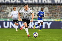 Connor Roberts of Swansea City in action during the Sky Bet Championship match between Swansea City and Cardiff City at the Liberty Stadium in Swansea, Wales, UK. Saturday 20 March 2021