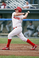 June 29th, 2007:  Steven Hill of the Batavia Muckdogs, Short-Season Class-A affiliate of the St. Louis Cardinals at Dwyer Stadium in Batavia, NY.  Photo by:  Mike Janes/Four Seam Images