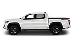 Car Driver side profile view of a 2020 Toyota Tacoma TRD-Off-Road 4 Door Pick-up Side View