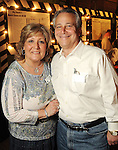 Susie and Scott Bender at the Cattle Baron's Ball at the George Ranch Saturday April 24,2010.. (Dave Rossman Photo)