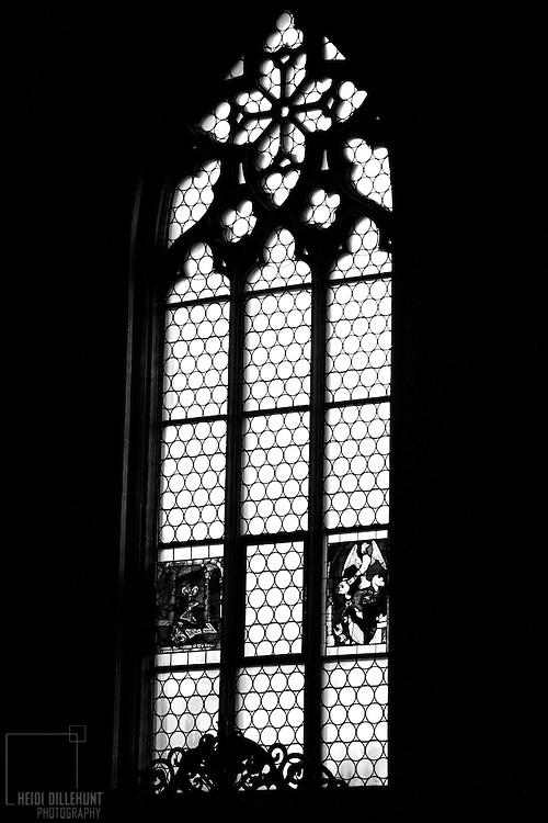 Stained glass window, Nürnberg Germany