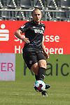 Tobias Kraulich (Nr.6, Wuerzburger Kickers) am Ball beim Spiel in der 2. Bundesliga, SV Sandhausen - Wuerzburger Kickers.<br /> <br /> Foto © PIX-Sportfotos *** Foto ist honorarpflichtig! *** Auf Anfrage in hoeherer Qualitaet/Aufloesung. Belegexemplar erbeten. Veroeffentlichung ausschliesslich fuer journalistisch-publizistische Zwecke. For editorial use only. For editorial use only. DFL regulations prohibit any use of photographs as image sequences and/or quasi-video.