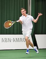 19-01-13, Tennis, Rotterdam, Wildcard for qualification ABNAMROWTT,  Milco Trampe