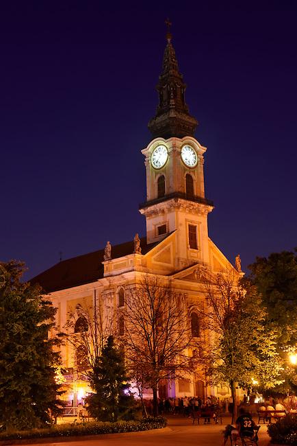 The Baroque Great Church ( Nagy Templom) , Hungary Kecskemét