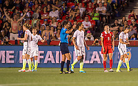 Ottawa, Canada - June 26, 2015:  The USWNT defeated China 1-0 during the quarterfinal of the FIFA Women's World Cup at Ottawa Stadium