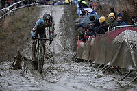KEvin Pauwes (BEL/Marlux-Bingoal) riding the mud.<br /> <br /> elite men's race<br /> GP Sven Nys 2018