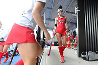 USA during the Pro League Hockey match between the Blacksticks women and the USA, Nga Punawai, Christchurch, New Zealand, Sunday 16 February 2020. Photo: Simon Watts/www.bwmedia.co.nz