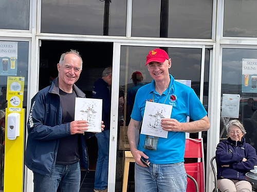Third overall - Frank Miller and Ed Butler Snr