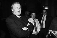 New York Yankees Owner George Steinbrenner at The Biltmore Hotel in Los Angeles,California during the 1996 Owners Meetings. (Larry Goren/Four Seam Images)