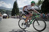 Daryl Impey (ZAF/Orica-BikeExchange)<br /> <br /> Stage 18 (ITT) - Sallanches › Megève (17km)<br /> 103rd Tour de France 2016