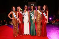 ALICIA AYLIES Miss France 2017 entouree de NINA NICOLAS 3eme Dauphine Miss Ile de France 2016, MARJOLAINE MATHOU 2eme Dauphine Miss Ile de France 2016, RAPHAELE OFTERDINGER Miss Val de Marne 2017, MEGGY PYANEEANDE Miss Ile de France 2016 & FANNY HARCAUT MIss Ile de France 2015 - Election Miss Val de Marne 2017 a Rungis