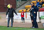 St Johnstone v Kilmarnock....20.10.12      SPL.Steve Lomas is astonished by the officials.Picture by Graeme Hart..Copyright Perthshire Picture Agency.Tel: 01738 623350  Mobile: 07990 594431