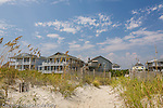 Beach houses, Wrightsville Beach, New Hanover County, NC