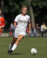 Boston College midfielder Kristen Mewis (19). Boston College defeated University of Virginia, 2-0, at the Newton Soccer Field, on September 18, 2011.