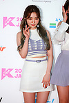 """Roh Ji-Sun(fromis_9), May 19, 2019 : K-Culture festival """"KCON 2019 JAPAN"""" at the Makuhari Messe Convention Center in Chiba, Japan. (Photo by Pasya/AFLO)"""
