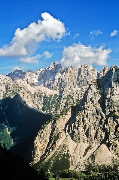 Julian Alps, Triglav National Park, above Pisnica Valley near Vrsic Pass, Kranjska Gora, Slovenia, AGPix_0551.