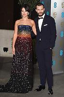 Amelia Warner and Jamie Dornan<br /> at the 2017 BAFTA Film Awards After-Party held at the Grosvenor House Hotel, London.<br /> <br /> <br /> ©Ash Knotek  D3226  12/02/2017