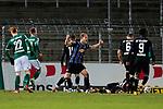 13.01.2021, xtgx, Fussball 3. Liga, VfB Luebeck - SV Waldhof Mannheim emspor, v.l. Marcel Seegert (Mannheim, 5) jubelt nach gelungener Defensivaktion<br /> <br /> (DFL/DFB REGULATIONS PROHIBIT ANY USE OF PHOTOGRAPHS as IMAGE SEQUENCES and/or QUASI-VIDEO)<br /> <br /> Foto © PIX-Sportfotos *** Foto ist honorarpflichtig! *** Auf Anfrage in hoeherer Qualitaet/Aufloesung. Belegexemplar erbeten. Veroeffentlichung ausschliesslich fuer journalistisch-publizistische Zwecke. For editorial use only.
