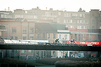 CX world champion Ceylin del Carmen Alvarado (NED/Alpecin-Fenix) crossing the bridge<br /> <br /> 2020 Urban Cross Kortrijk (BEL)<br /> women's race<br /> <br /> ©kramon