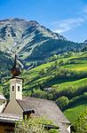 Oesterreich, Salzburger Land, Pinzgau, Raurisertal, Rauris: Friedhofskapelle hl. Michael | Austria, Salzburger Land, region Pinzgau, Rauris Valley, Rauris: Chapel of cementary St. Michael