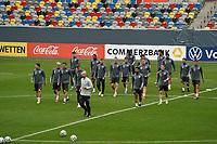 Nationalmannschaft auf dem Trainingsplatz - 23.03.2021: Training der Deutschen Nationalmannschaft vor dem WM-Qualifikationsspiel gegen Island, Merkus Spiel Arena Duesseldorf