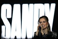 """SÃO PAULO, SP 24.08.2019: SANDY E JUNIOR-SP - A dupla Sandy e Junior Lima, comemorando 30 anos da primeira aparição na TV, se apresentou na noite deste sábado (24), no Allianz Parque, zona oeste da capital paulista. O show faz parte da turnê """"Nossa História"""", que passará no total por 11 capitais. (Foto: Ale Frata/Código19)"""