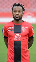 13th November 2020; Stade Gaston Gérard, Dijon, France; Dijon FC official portrait pictyres for season 2020-21, League 1;  Ngonda