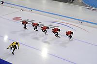 SCHAATSEN: HEERENVEEN: 15 -10-2020, IJsstadion Thialf, Topsporttraining, ©foto Martin de Jong