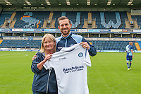 Paul Hayes of Wycombe Wanderers during the Wycombe Wanderers 2016/17 Team & Individual Squad Photos at Adams Park, High Wycombe, England on 1 August 2016. Photo by Jeremy Nako.