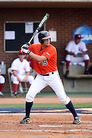 Steven Proscia of the Virginia Cavaliers playing in Game Two of the NCAA Super Regional tournament against the Oklahoma Sooners at Charlottesville, VA - 06/13/2010. Oklahoma defeated Virginia, 10-7, to tie the series after two games.  Photo By Bill Mitchell / Four Seam Images