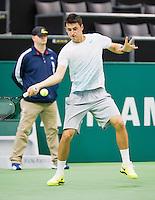11-02-13, Tennis, Rotterdam, ABNAMROWTT, Bernard Tomic,