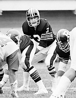 Bill Robinson Ottawa Rough Riders quarterback 1976. Copyright photograph Scott Grant