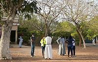 Senegal, Benediktinerkloster Keur Moussa, nach der Messe
